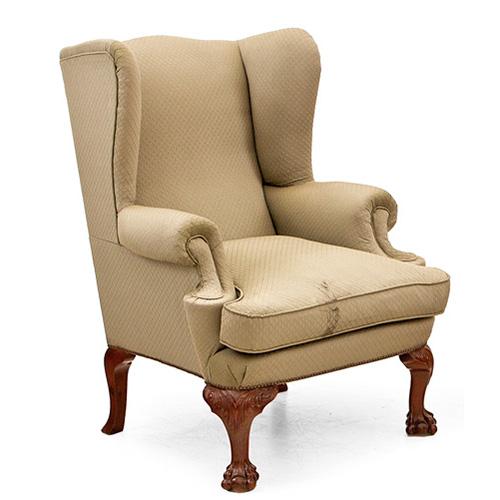 Como tapizar un sillon orejero beautiful amazing butaca o silln orejero tapizado marrn o beige - Cuanto cuesta tapizar una butaca ...