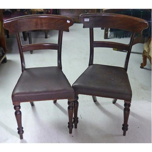 ABALARTE SUBASTAS - Pareja de sillas estilo victoriano con asientos ...
