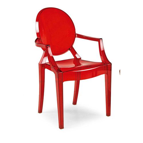 Abalarte subastas silla louis ghost segn diseo de - Silla philippe starck ...