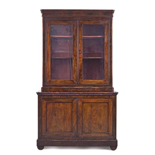 Abalarte subastas mueble vitrina de estilo victoriano s for Subastas muebles madrid