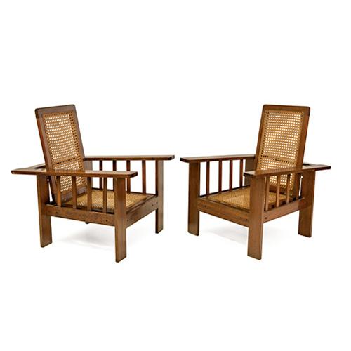 Abalarte subastas pareja de sillones antiguos tipo - Sillas y sillones clasicos ...