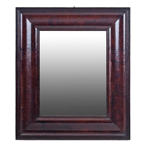 Abalarte subastas espejo con ancho marco isabelino en for Espejo marco ancho