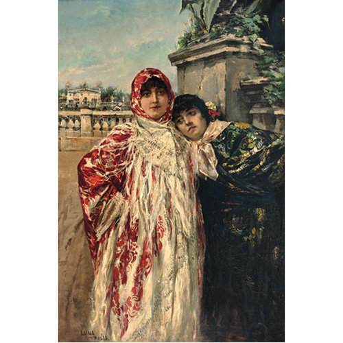 Sub.:6 - Lote: 157 - JUAN LUNA AND NOVICE (Badoc, Philippines, 1857 - Hong Kong, 1899) Spanish in Paris